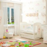 детская комната для новорожденного выбор мебели