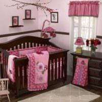детская комната для новорожденной девочки