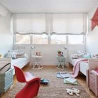 детская комната для разнополых детей дизайн