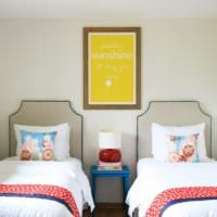 детская комната для разнополых детей интерьер