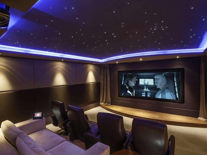 дизайн декор домашнего кинотеатра
