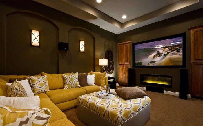идеи оформления домашнего кинотеатра