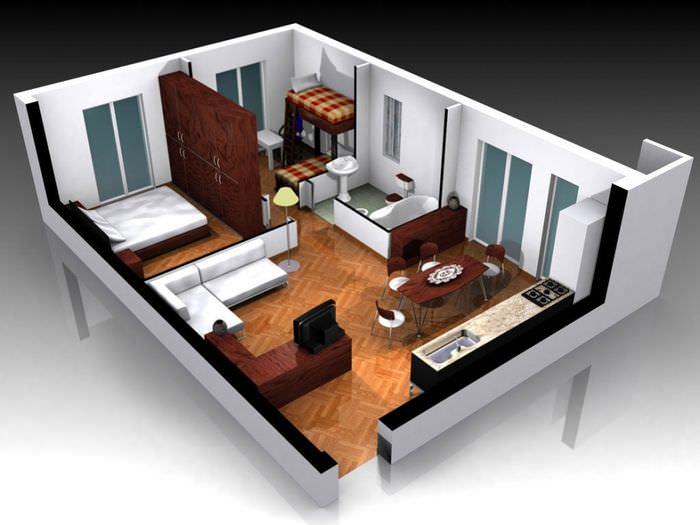 дизайн интерьера 3d моделирование