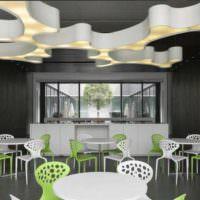 дизайн кафе интерьер фото