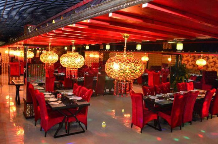 дизайн китайского кафе