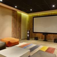 дизайн домашнего кинотеатра идеи декор