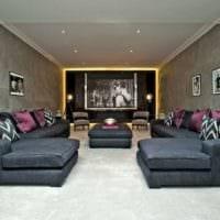 дизайн домашнего кинотеатра идеи декора