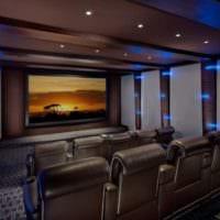 дизайн домашнего кинотеатра идеи варианты