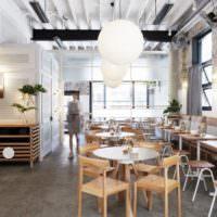 дизайн интерьера кафе оформление фото