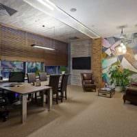 кабинет руководителя дизайн