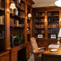 кабинет руководителя дизайн интерьера