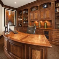 кабинет руководителя фото дизайна