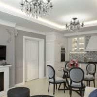 классический дизайн интерьера квартир