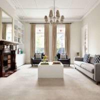 классический дизайн в частном доме