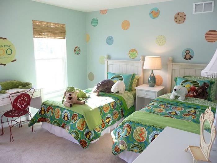 оформление комнаты мальчика и девочки