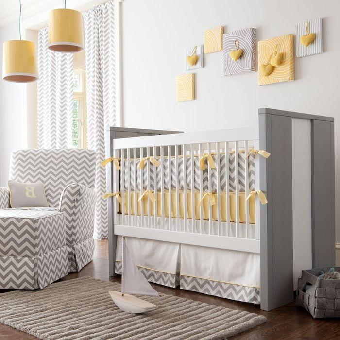 фото комнаты новорожденного