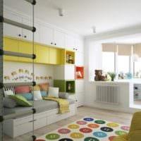 комната для разнополых детей фото интерьера