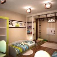 комната для разнополых детей интерьер