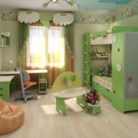 комната для разнополых детей интерьер фото