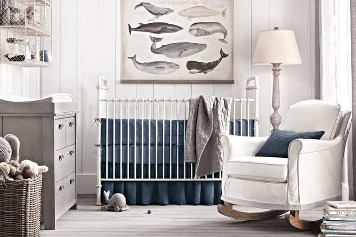 комната новорожденного мальчика