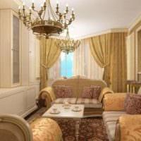 квартира в классическом стиле барокко