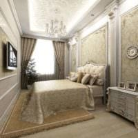 квартира в классическом стиле фото спальни