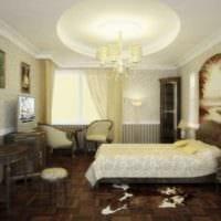 квартира в классическом стиле спальня