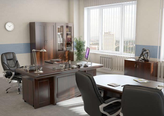 дизайн кабинета мужчины