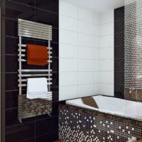 плитка для ванной комнаты мозаика