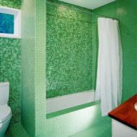 плитка для ванной комнаты зеленая идеи