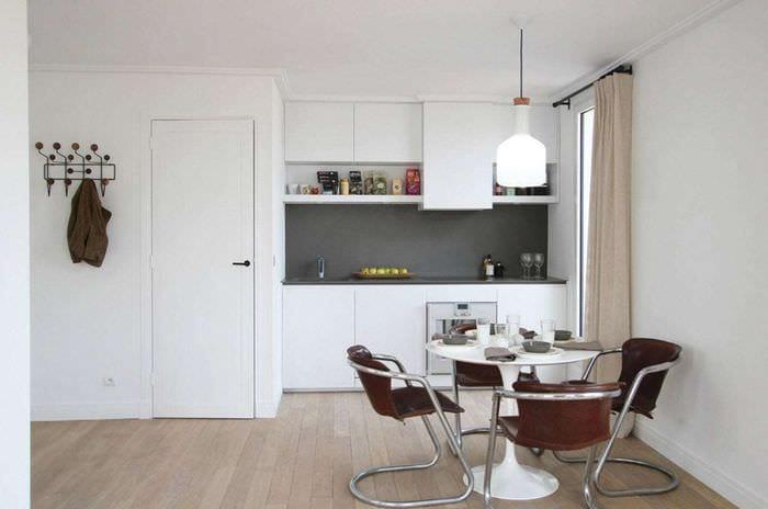 современный дизайн квартиры студии идеи