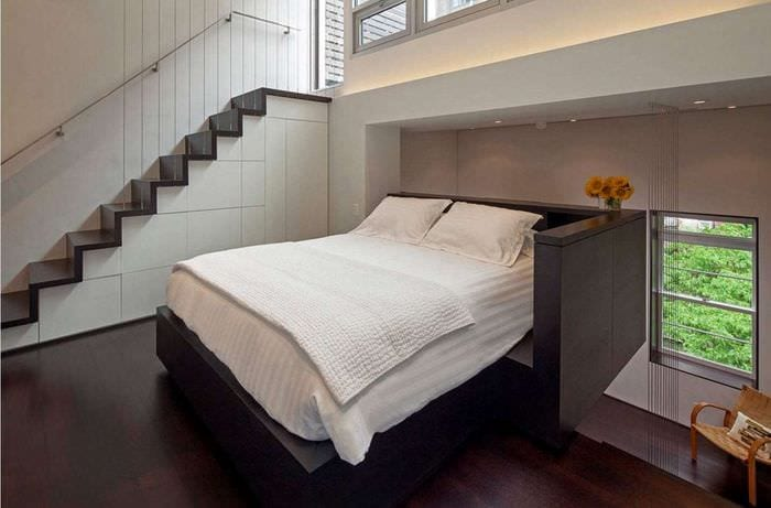 современный дизайн спальни идеи