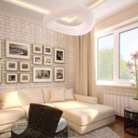Дизайн интерьера гостиной комнаты в квартире