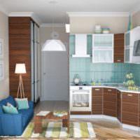 Уютный интерьер совмещенной кухни без ошибок