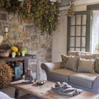 Зелень и цветы в дизайне загородного дома