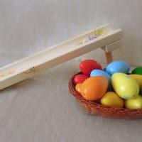 Сувенир-горка для пасхальных яиц своими руками