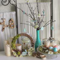 Праздничные декорации к Пасхе своими руками