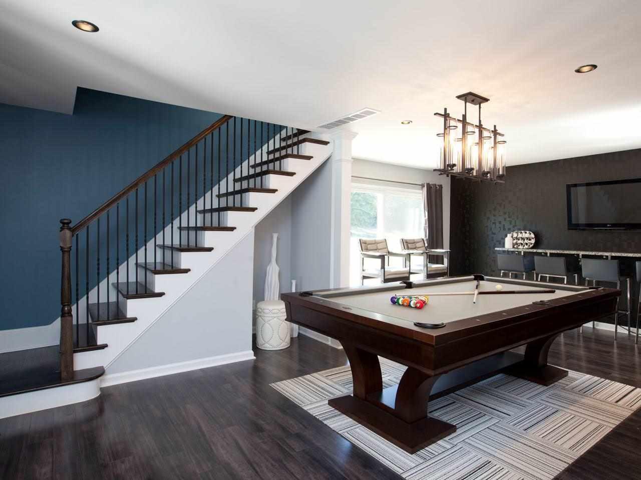 пример необычного дизайна лестницы в честном доме