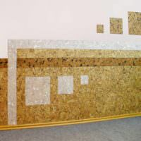 пример использования пробки в декоре квартиры картинка