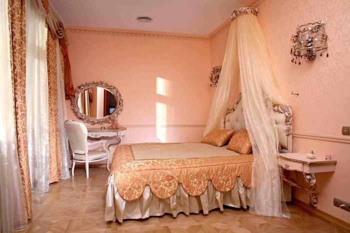 виноградники спальни в персиковом цвете фото видео первосортные только