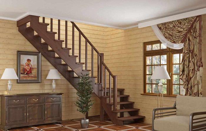 разработкам лестницы в дачном доме фото наглядные