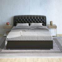 вариант яркого стиля изголовья кровати картинка