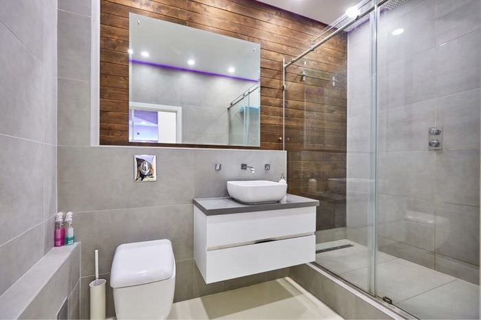 Компоновка совмещенного санузла без ванной