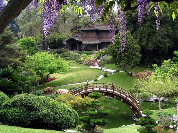 Японский стиль в ландшафтном саде