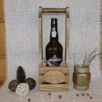 Алкогольный подарок мужчине на юбилей