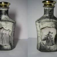 Бутылка коньяка в ретро-стиле в подарок