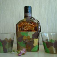 Набор с алкоголем в подарок на день рождения мужчины