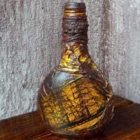 Пиратская бутылка в подарок любимому мужчине