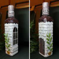 Декор бутылки своими руками для мужчины