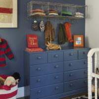 Детский комод со множеством ящиков для вещей